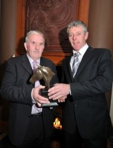 Peter Molloy receives Award Gearoid Curran